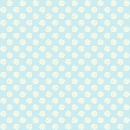baby blue: Elegant floral background. White white flowers. Vector