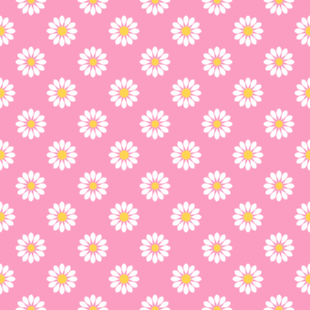 roze: Beautiful seamless floral background with white flowers