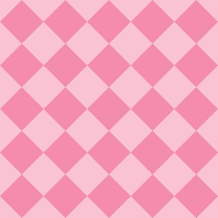 Pastel pink fabric diamond seamless pattern background 일러스트