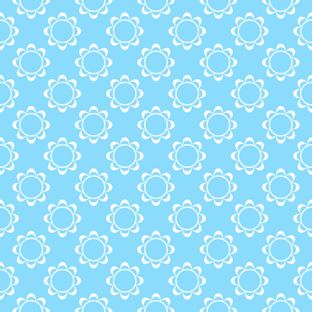fabric textures: Antique floral fabric with flowers pattern useful for textures and background. Illustration