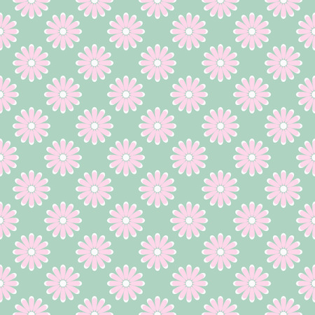 tiny: Elegant floral pattern with tiny flowers. Vector.