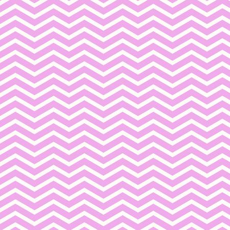 tones: Retro zigzag pattern in pale pink tones