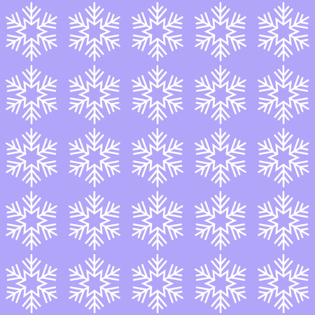 Cute elegant background with snowflakes, lilac illustration