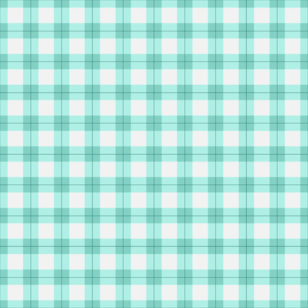 Seamless tartan plaid pattern. Checkered fabric texture print in in pastel tones. Illustration