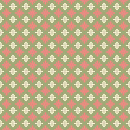Flower pattern. Seamless floral background. Elegant petals