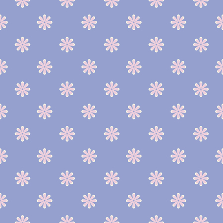 Tiny cute flora pattern background. Vector image. Illustration
