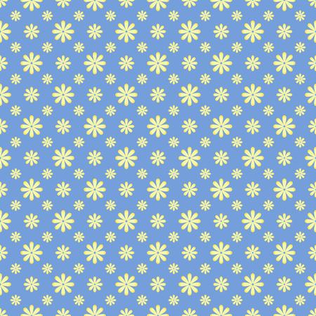 작은 꽃에 귀여운 꽃 패턴입니다. 우아한 배경입니다.