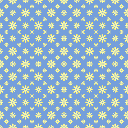 Cute Floral pattern in the small flower. Elegant background.