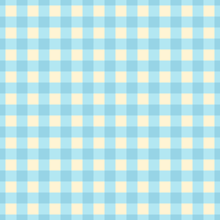 Blue plaid seamless pattern. Cute vector background. Illustration