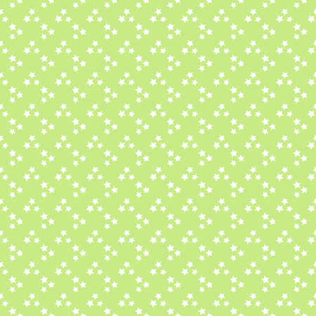 Vector star pattern in pale green tones