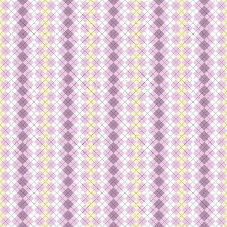 Seamless argyle pattern. Pattern is in Swatches Palette. Illustration