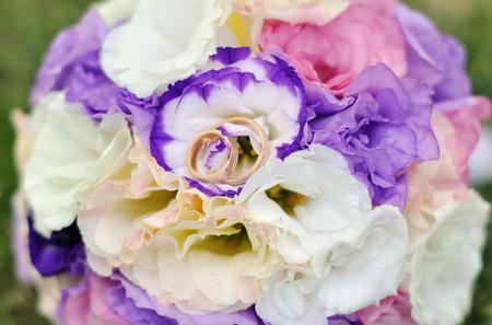 textured wall: fine art bridal bouquet in natural light