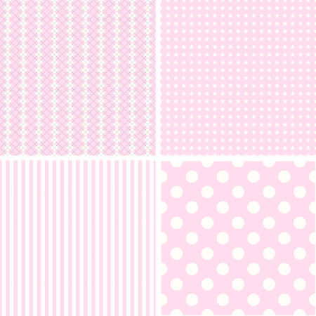 Different Vector Patterns Texture Can Be Used For Wallpaper