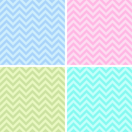 Modern geometric patterns in pale pink tones
