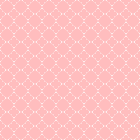 Decorative geometric pattern. Quatrefoil background. Illustration for fabric textile and wrapping paper designs Illustration