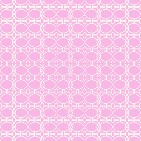 Vector seamless pattern. Stylish fabric print with abstract geometric design.
