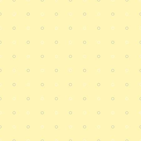 Polka dot seamless retro pattern in pale tones