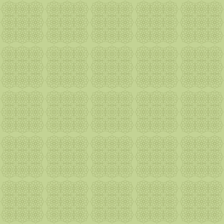 A Vector geometric seamless pattern in green tones