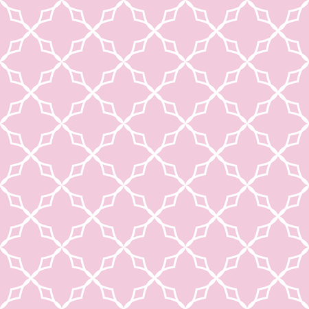 Vector geometric seamless pattern in pink tones Illustration