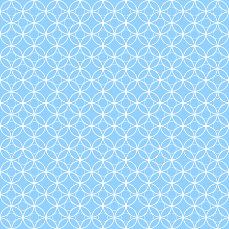 Seamless vintage pattern with quatrefoils. Seamless vector background. Illustration