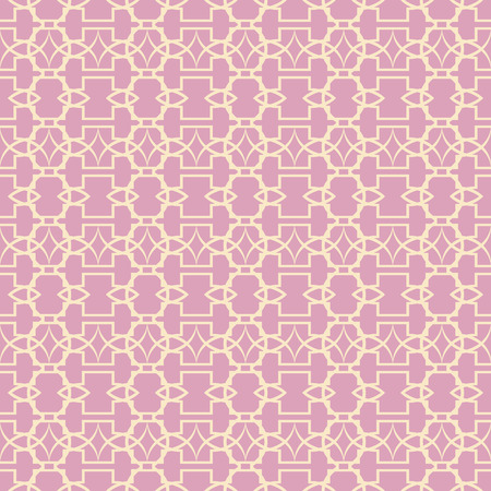 Lace seamless pattern with ornament on pink background