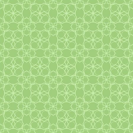 Lace seamless pattern. Lace seamless pattern on green background. Illustration