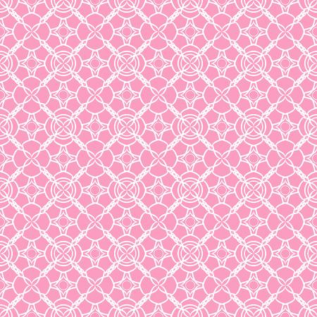 Lace seamless pattern. Lace seamless pattern on pink background.