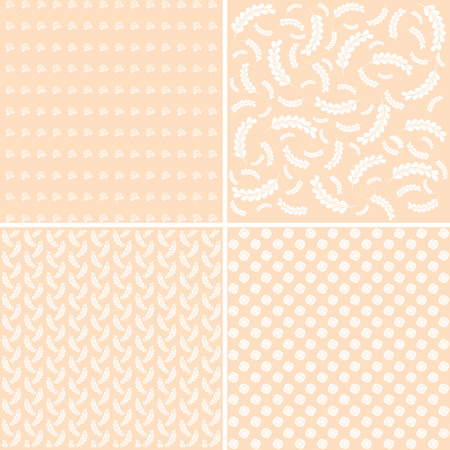 Different Baby Seamless Patterns For Wallpaper Web Page Background
