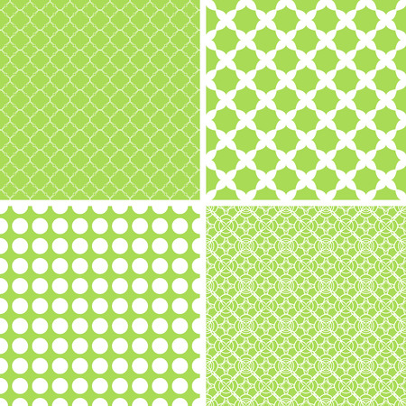 Different baby seamless patterns. Texture for wallpaper, fill, web page background. Illustration