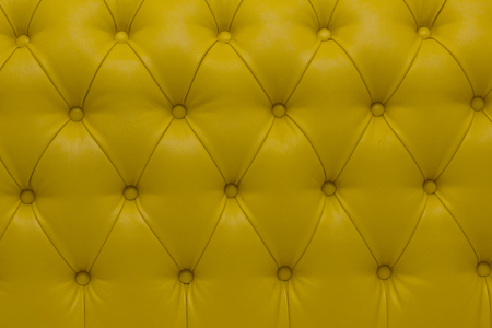 sumptuous: Leather upholstery of a magnificent sofa