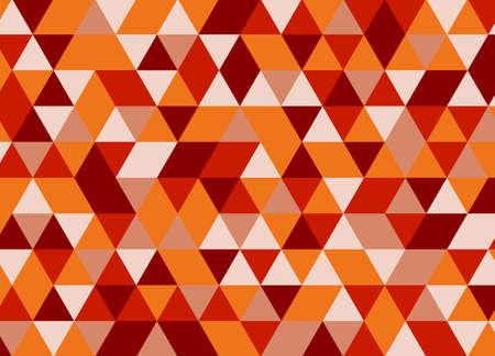 Vector moderne motif géométrique coloré de triangle, couleur abstrait géométrique, oreiller imprimé multicolore, texture rétro, design de mode hipster Banque d'images - 64001798