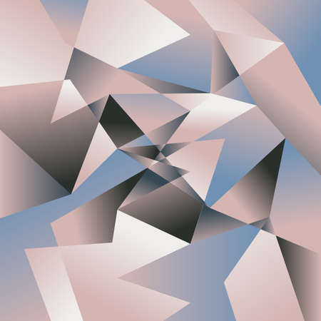rough: Polygon background. Abstract texture