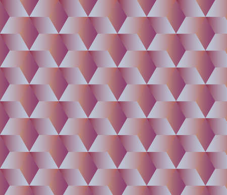 Abstract geometric background with cubes Illustration