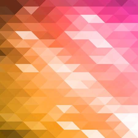 Vector geometric shapes. Colorful mosaic background. Illustration