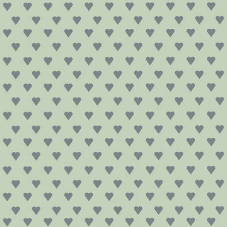 patterns and colors: Seamless vector pattern with white hearts on pastel background