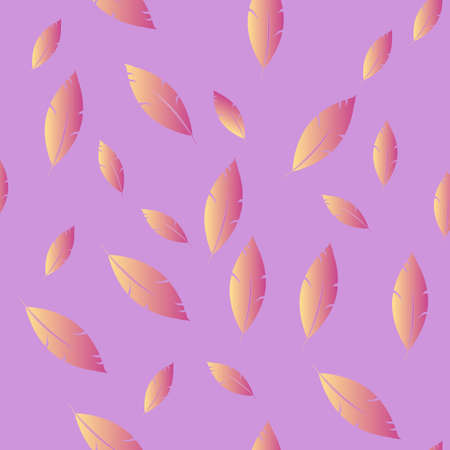 Feathers pattern for fashion design (hippie, boho style). repeated background.