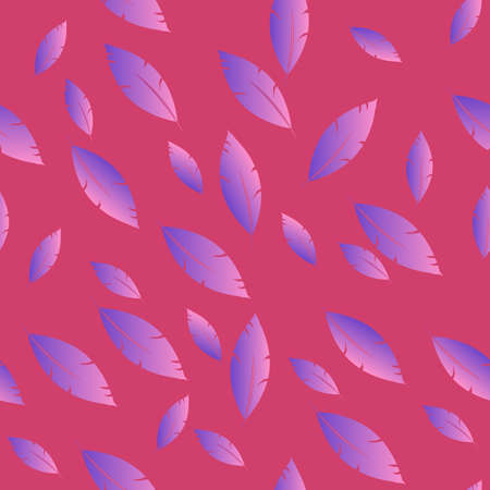 quills: Feathers pattern for fashion design (hippie, boho style). repeated background.