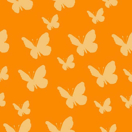 Butterfly pattern.   seamless pattern. Repeating background.