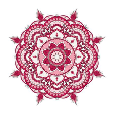 weave: Flower Mandalas. Vintage decorative elements. Oriental pattern, vector illustration. Islam, Arabic, Indian, turkish, pakistan, chinese, ottoman motifs