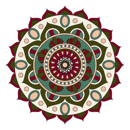 oriental vector: Flower Mandalas. Vintage decorative elements. Oriental pattern, vector illustration. Islam, Arabic, Indian, turkish, pakistan, chinese, ottoman motifs