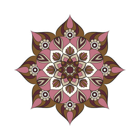 Flower Mandalas Illustration
