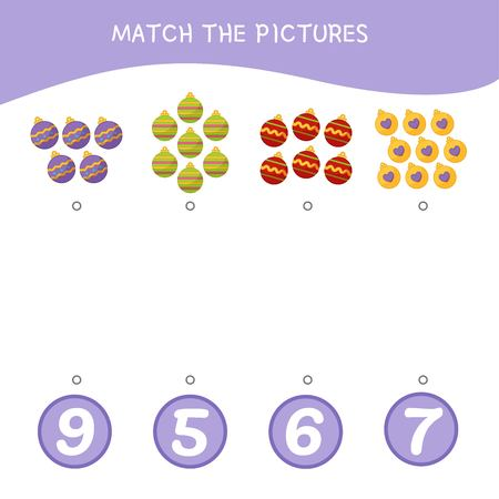 Counting educational children game, math kids activity sheet. How many objects task. Cartoon donuts.