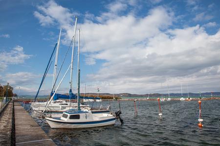 yachting at lake