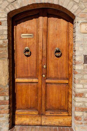 Old door in Venice, Italy Imagens
