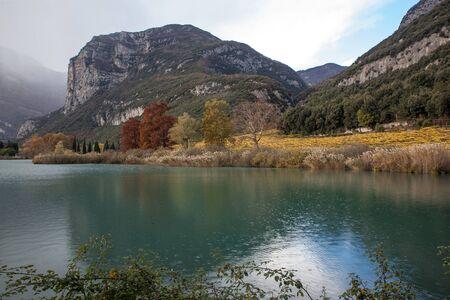 picturesc lake in mountain 写真素材