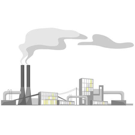 industriële view Stock Illustratie