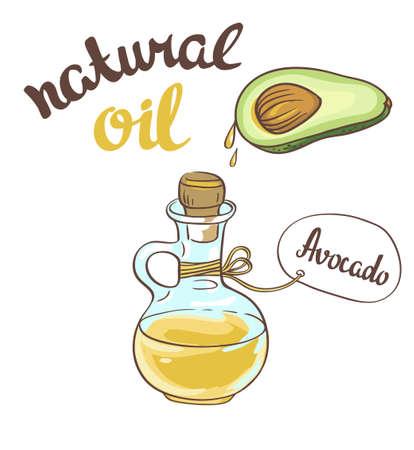 Avocado oil, Glass Bottle