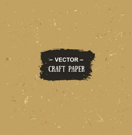 cardboard texture: Vector cardboard texture. Craft paper for your design.