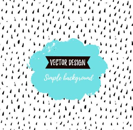 Grunge simple textured universal background. Vector illustration for invitation, poster, card or flyer. Иллюстрация