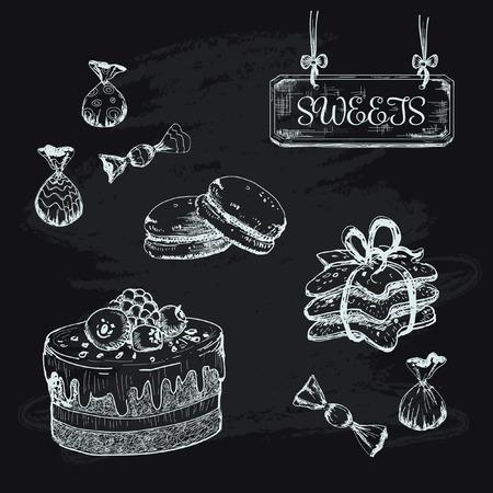 souffle: Sweets Illustration